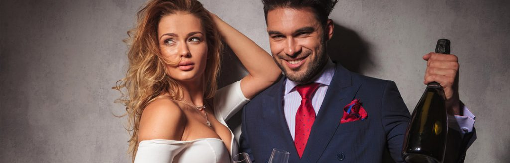 When to bring your new millionaire man to events